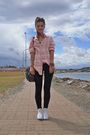 Pink-sportsgirl-shirt-white-converse-shoes-black-cotton-on-leggings