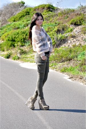 Industrie pants - Ebay shoes - bardot sweater