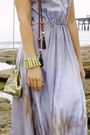 Sky-blue-pol-dress-gold-vintage-bag-nude-tony-bianco-heels