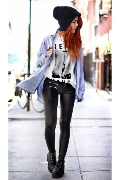 tuco t-shirt - Modekungen shoes - romwe leggings