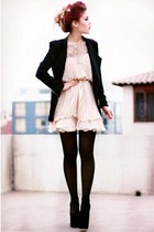 black sammydress blazer - light pink She Inside dress