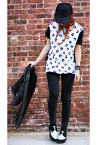 white your eyes lie t-shirt - black doc martens shoes
