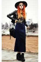 Saltwater Gypsy skirt - H&M jacket - random t-shirt