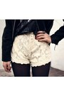 Black-romwe-jacket-white-chicwish-shorts-black-boyfriends-t-shirt