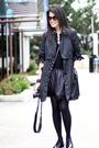 Black-mango-coat-black-forever-21-jacket-black-forever-21-top-black-foreve