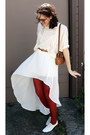 White-urban-outfitters-shoes-brick-red-tights-tawny-leather-vintage-purse