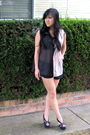 Beige-lucyd-acyd-blouse-black-pavonine-shorts-black-jeffrey-campbell-shoes