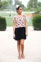 H&M dress - Topshop t-shirt - H&M accessories