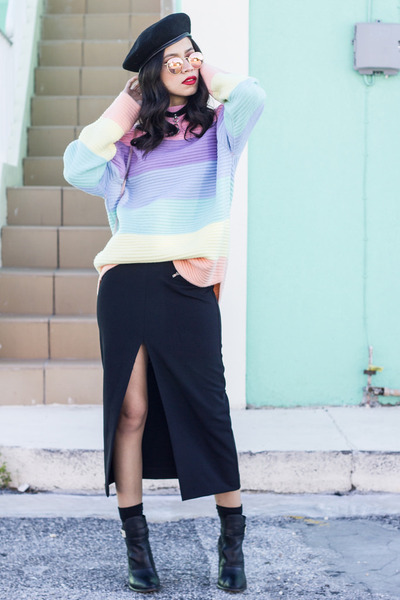 UNIF sweater - ray-ban glasses