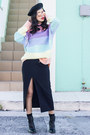 Unif-sweater-ray-ban-glasses