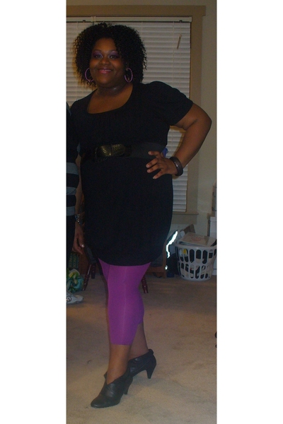 dress - Target tights - came with a dress from Filenes Basement belt - boots
