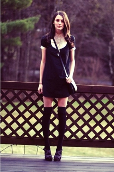 H&M dress - UO socks - Old Navy shoes