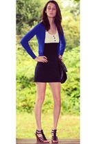 H&M jacket - H&M dress - H&M purse - Charlotte Russe shoes