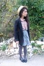 H-m-blazer-bimba-lola-bag-primark-blouse-adolfo-dominguez-skirt