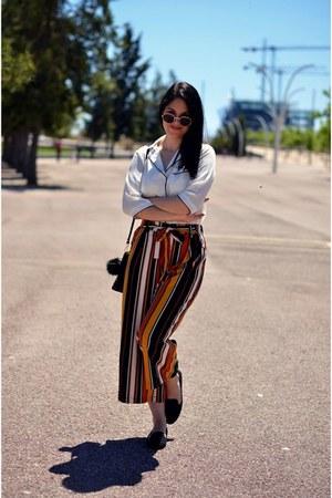 carrot orange Zara pants