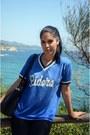 Blue-zara-t-shirt