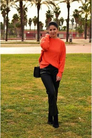 carrot orange Primark sweater