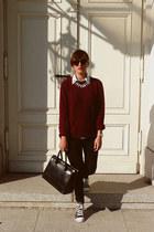 brick red H&M for Men jumper