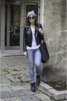 periwinkle H&M jeans
