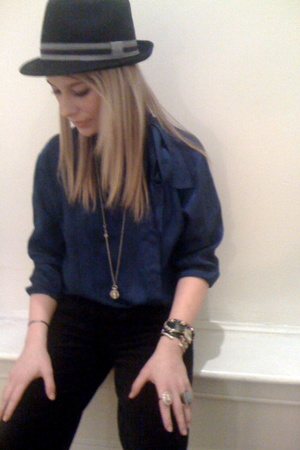 vintage shirt - Luella for Target pants - Urban Outfitters hat