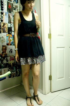 Forever 21 skirt - Gap belt - bandeau Target