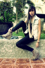 Light-blue-diy-vest-dark-gray-forever-21-necklace-dark-brown-asian-vogue-sho