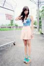 Sky-blue-cprset-topshop-intimate-light-pink-shorts-vintage-skirt-aquamarine-