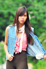 Anne-taylor-top-sky-blue-vintage-vest-vintage-pants-summersault-shoes-ja