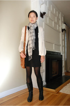 Urban Outfitters shoes - Guess dress - Saks 5th Ave sweater - Jones New York sca