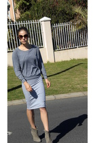 aa shirt - aa dress - Zara shoes