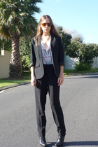Mossimo blazer - vintage pants - JS shoes - UO shirt