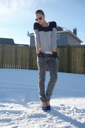forever 21 jeans - H&M sweater
