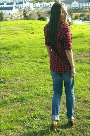 Jay-Jays shirt - Levis jeans