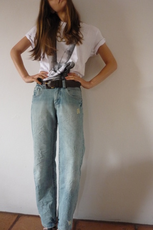 jj jeans - jj shirt - Nine West shoes