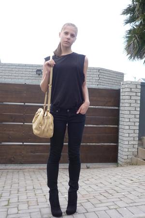UO jeans - mens shirt - Zoom shoes - Miu Miu purse