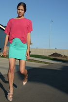 Urban Outfitters skirt - vintage shirt - Steve Madden shoes