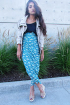 maxi skirt DIY skirt - cargo jacket Dollhouse jacket