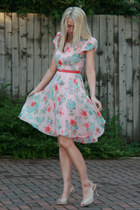chiffon lined Louche dress