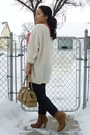 Bronze-asos-boots-navy-hollister-jeans-tan-bag