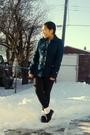 Blue-forever-21-coat-black-garage-leggings-white-sm-socks-brown-gojane-sho