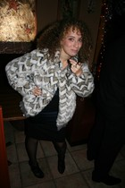Marc by Marc Jacobs jacket - Diane Von Furstenberg dress - Zara shoes - Wolford