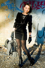 Black-h-m-dress-h-m-leggings-black-sameedleman-shoes-black-random-silver