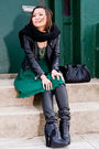 Black-h-m-scarf-black-h-m-jacket-black-h-m-pants-black-sam-edelman-shoes-