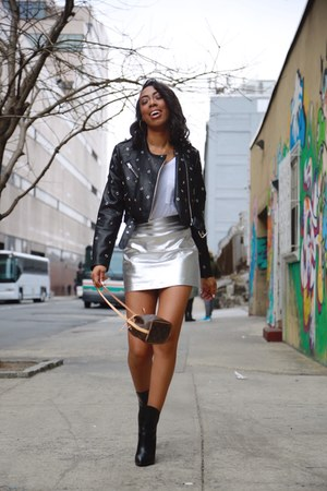 Mango skirt - shoes - Zara jacket - bag