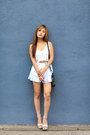 Forever-21-bag-chiffon-beginning-boutique-shorts-chinese-laundry-pumps