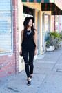 Frame-jeans-halter-salsit-top-forever-21-necklace-zara-wedges