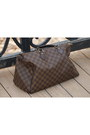 Brown-louis-vuitton-bag-black-rubi-sandals-black-new-look-top