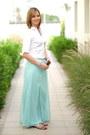 Zara-shirt-steve-madden-sandals-promod-skirt-accessorize-necklace