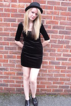 H&M hat - Debenhams shoes - Newlook dress