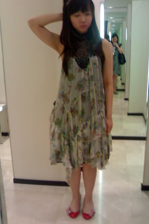 Zara dress - mondo shoes
